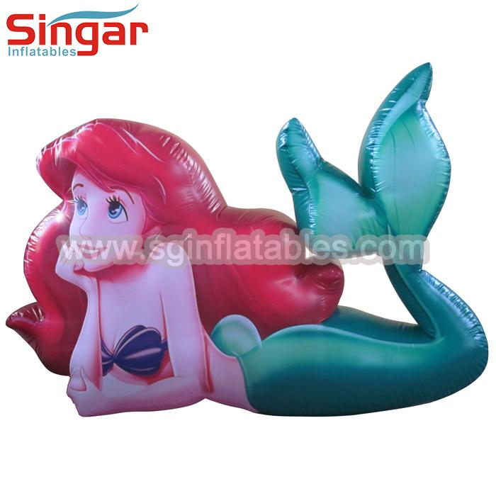 Inflatable Mermaid Balloon Mermaid Cartoon Product Center